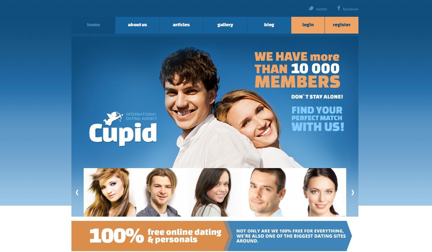 Создать сайт знакомств быстро