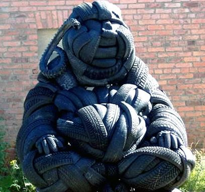 Скульптура Mirko Siakkou Flodin 5 - Скульптура Mirko Siakkou Flodin 5