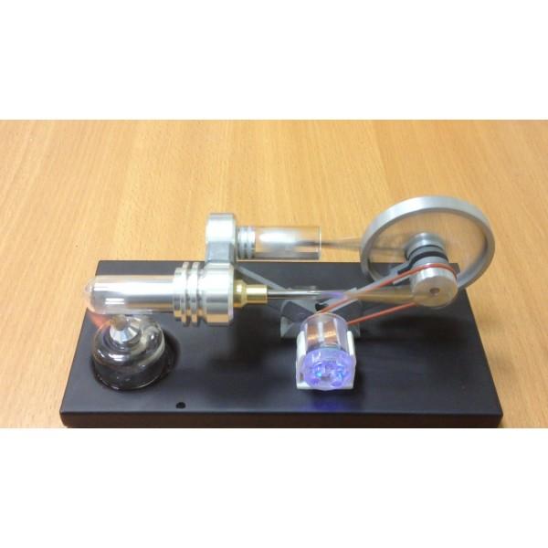 Двигатель Стирлинга - повторение схемы Зингера - dvigatel stirlinga