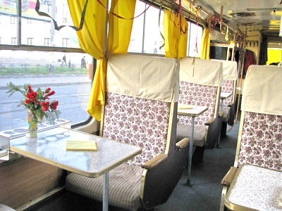 Ресторан на колесах - tramvai