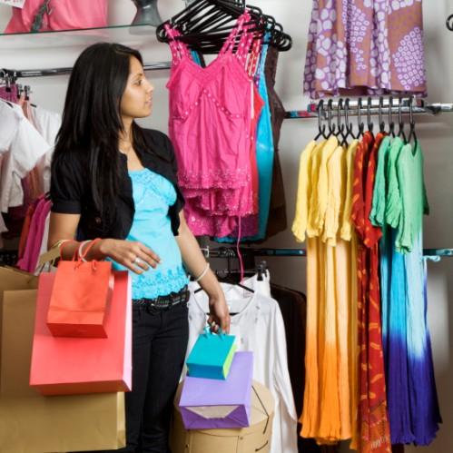 магазин одежды - shop