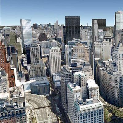 Перевод реального мира в виртуальный 3D - karta