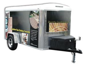Оборудование для гравировки по бетону - 1-trailer