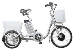 3х колёсный электрический велосипед