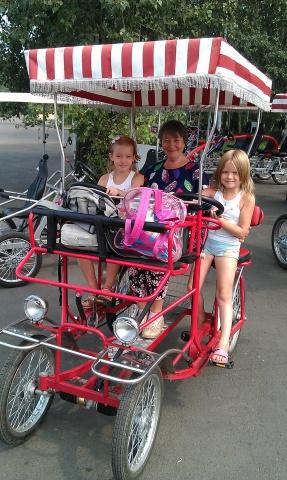 Аренда 4-х колесных ВелоМобилей и спортинвентаря - ВелКар