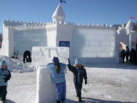 Ледяная крепость - gorodok_12