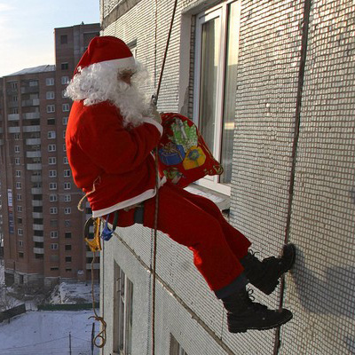 Бизнес на новогодних праздниках - ded_moroz