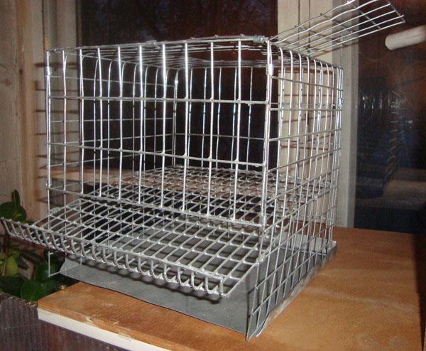 Изготовление клеток для птиц - kletka