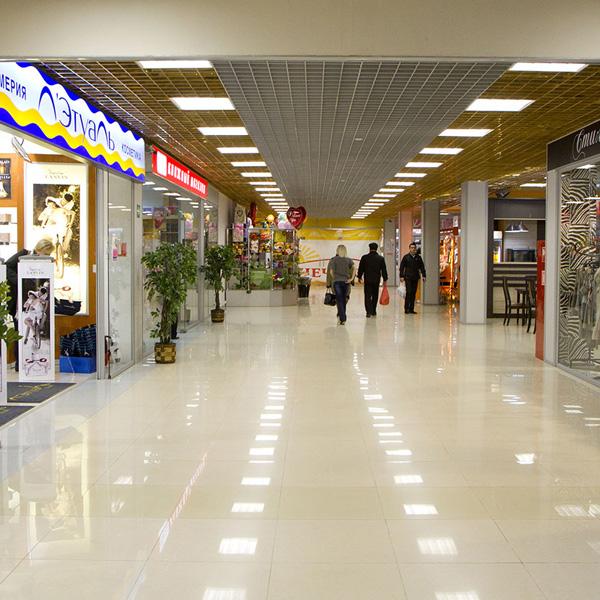 Оформление розничного магазина в ТЦ - tc