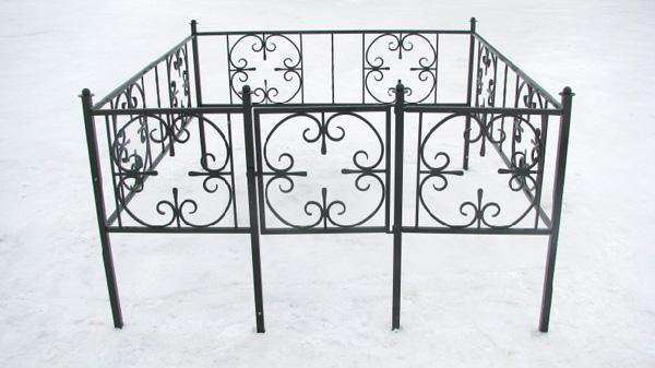 Изготовления оградок, лавочек, столиков на кладбище - ogradka
