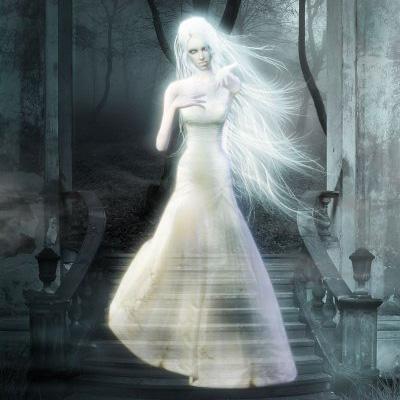 Фотосессия с призраком. Призрак на свадьбе - s_prizrakom