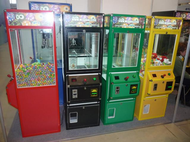 аппараты торговые игровые