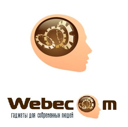 Черновой вариант логотипа для webecom.ru
