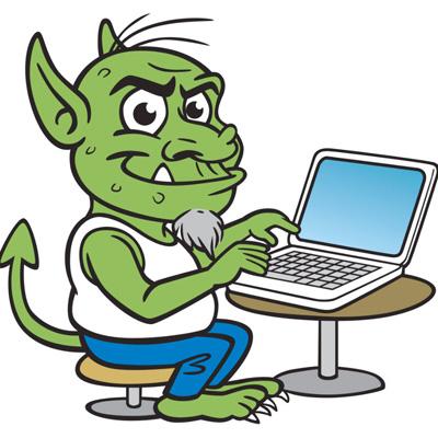 Тролли в интернете - trolli