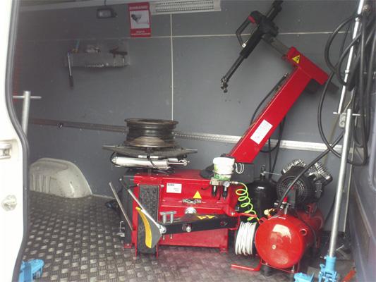 Шиномонтаж на колесах - schinomontag
