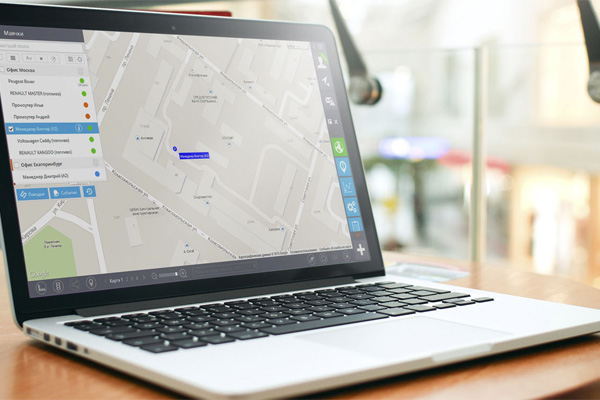GPS-мониторинг за транспортом - monitoring