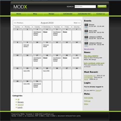 Система управления сайтам MODx - modx