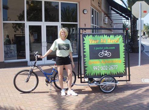 Реклама на велосипедах - ipedalads-2
