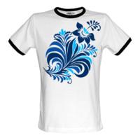 Роспись футболок акриловыми красками - futbolka