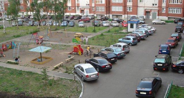 Бизнес с нуля - дворовая охраняемая стоянка - stoyanka