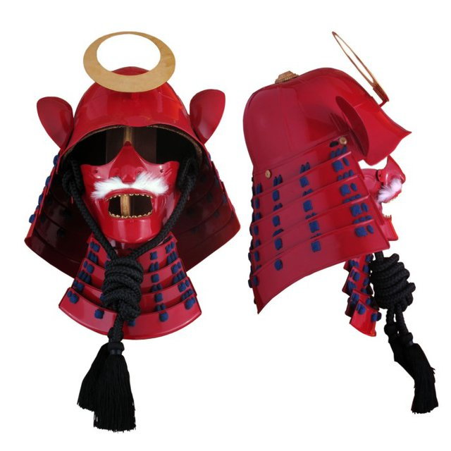 Производство копий старых самурайских доспехов. - samurai