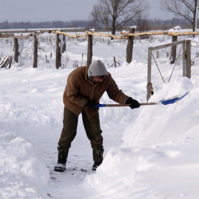 Чистка снега - sneg