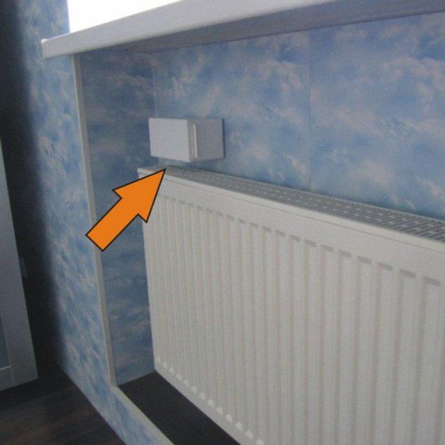 Установка вентиляционных клапанов на пластиковые окна. - klapan