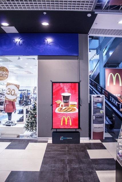 Видеопанель - быстроокупающийся бизнес на размещении рекламы - Мак