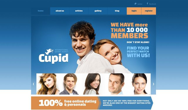 Неплохой платный шаблон для сайта знакомств - Неплохой платный шаблон для сайта знакомств