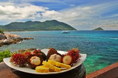 Фрукты и ягоды из Тайланда - tailand