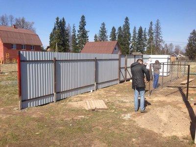 Строительство заборов, распашных и откатных ворот - IMG_3736.JPG