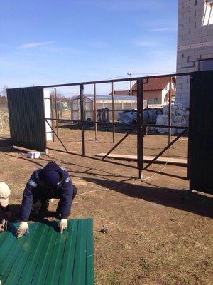 Строительство заборов, распашных и откатных ворот - IMG_3722.JPG