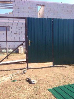 Строительство заборов, распашных и откатных ворот - IMG_3724.JPG