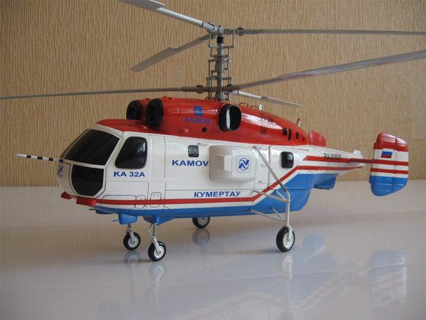 Масштабные модели вертолета Ка-32 - vertolyet