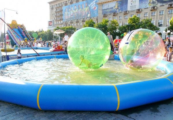 Прокат водных шаров. - sorb