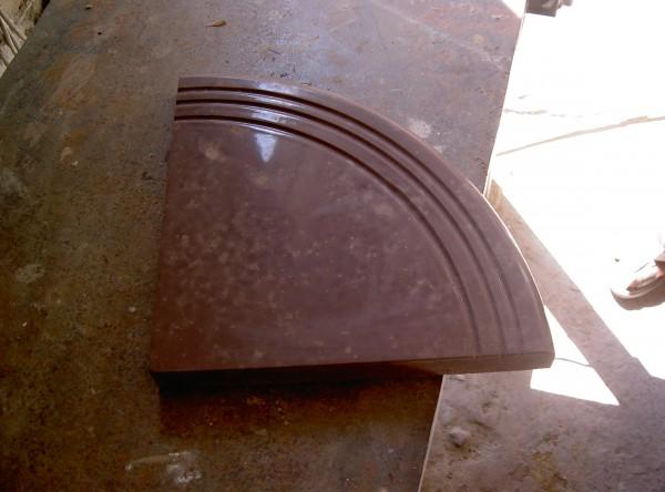Пример плитки с насыщенным цветом.